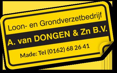 Loon- en Grondverzetbedrijf A. van Dongen & Zn. B.V.