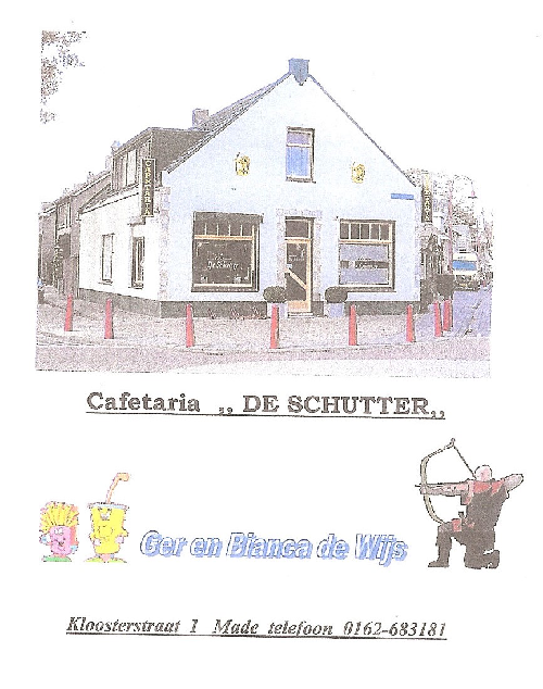 Cafetaria de Schutter
